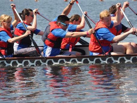 Freibad Sythen startet beim Drachenboot-Rennen - Noch wenige Plätze im Boot frei!