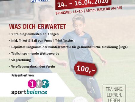 Anderbrügges Fußballcamp ein Ergebnis der Ruhrpotthelden