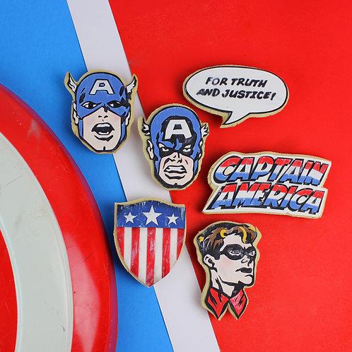 Vintage Comic Cookie Set (12 pc)