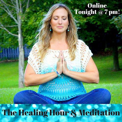 Healing Hour & Meditation Online