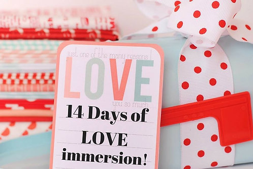 14 Days of LOVE immersion