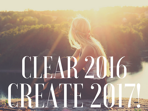 Clear the Old & Create the New