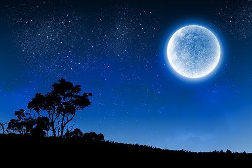 April Full Blue Moon Meditation Class