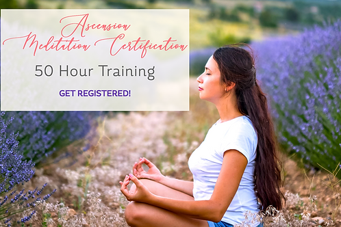 Ascension Meditation Certification - Monthly