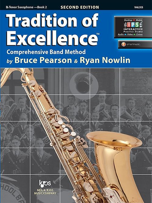 Tradition of Excellence Book 2 - B♭ Tenor Saxophone