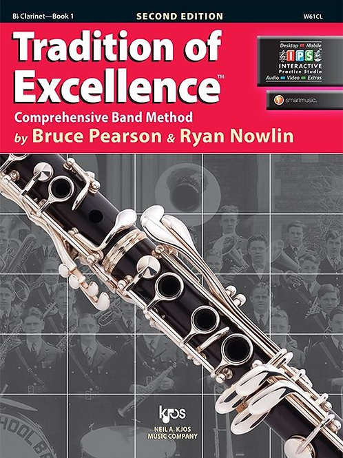 Tradition of Excellence Book 1 - B♭ Clarinet