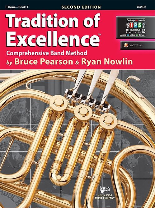 Tradition of Excellence Book 1 - French Horn