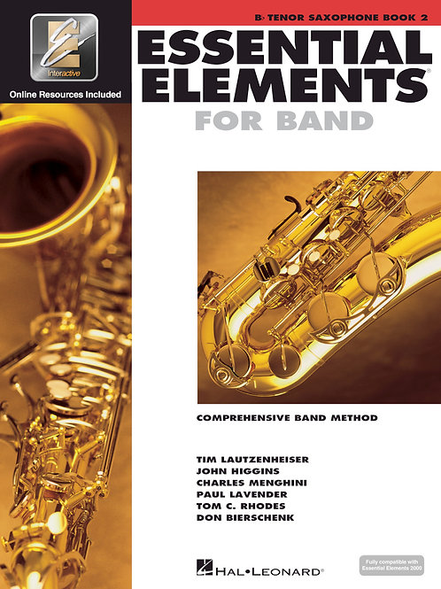 Essential Elements for Band - B♭ Tenor Sax Book 2