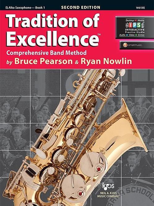 Tradition of Excellence Book 1 - E♭ Alto Saxophone