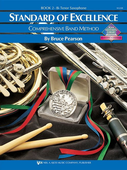 Standard of Excellence Book 2 - B♭ Tenor Saxophone