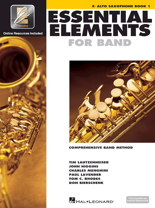 Essential Elements for Band - E♭ Alto Sax Book 1