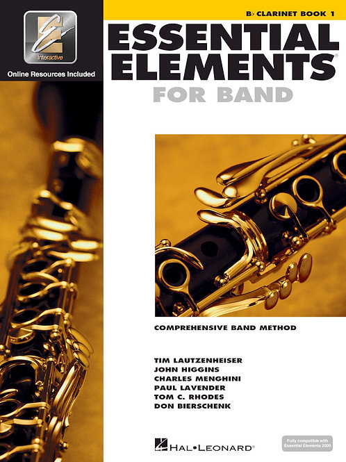 Essential Elements for Band - B♭ Clarinet Book 1