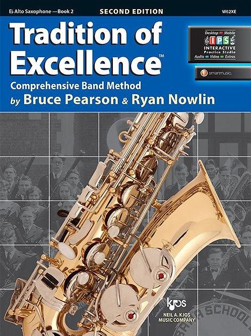 Tradition of Excellence Book 2 - E♭ Alto Saxophone