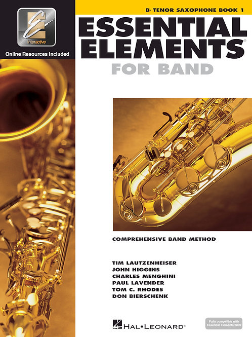 Essential Elements for Band - B♭ Tenor Sax Book 1