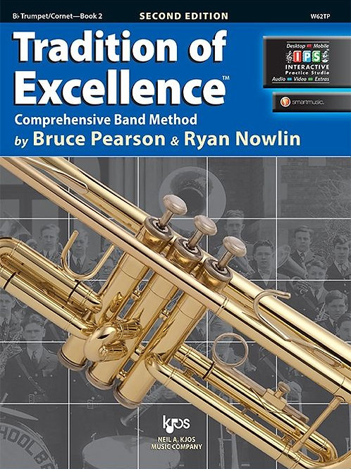 Tradition of Excellence Book 2 - B♭ Trumpet/Cornet