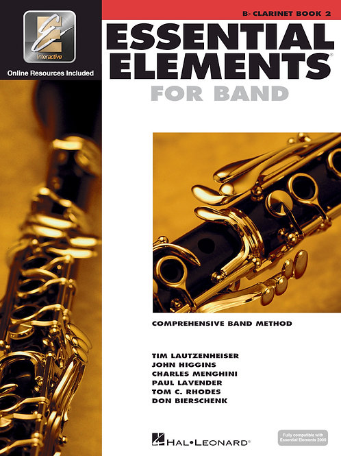 Essential Elements for Band - B♭ Clarinet Book 2