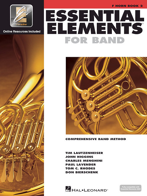 Essential Elements for Band - French Horn Book 2