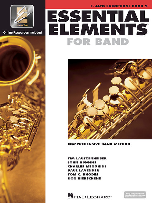 Essential Elements for Band - E♭ Alto Sax Book 2