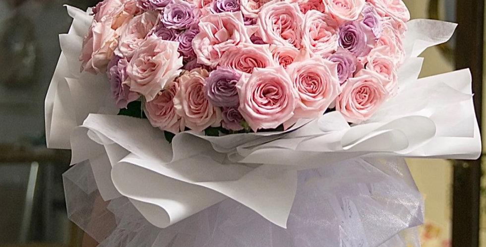 99枝玫瑰 求婚花束