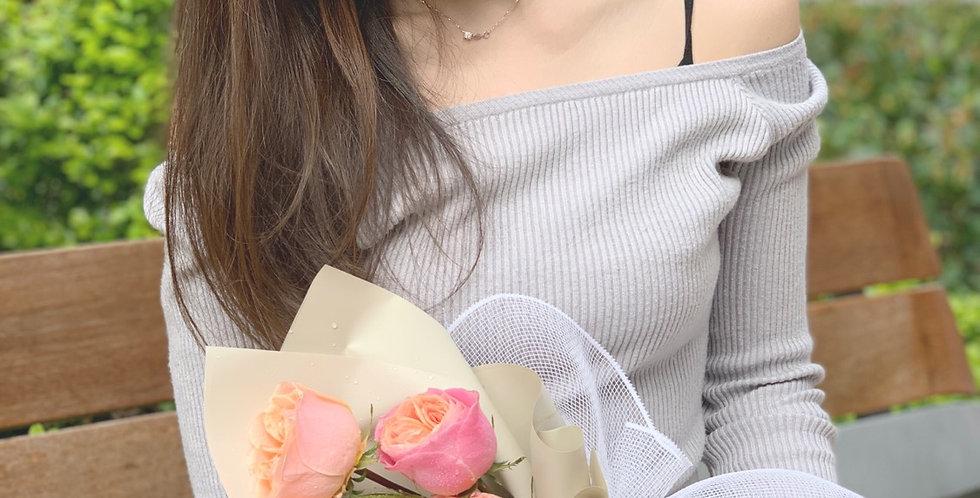 3枝裝庭園玫瑰