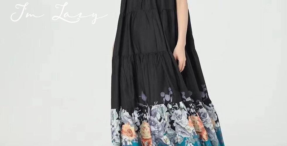 韓裝 🇰🇷 花卉 連身裙