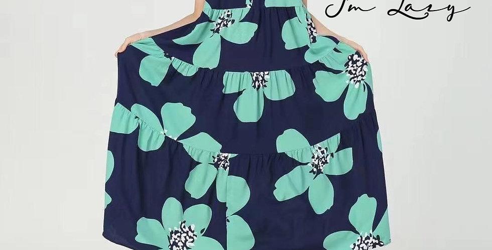 韓裝 🇰🇷 大花 連身裙
