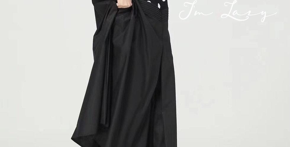 韓裝 🇰🇷 波點拼 連身裙
