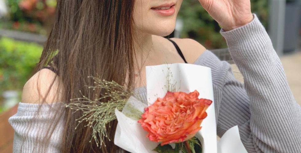 愛你單枝裝庭園玫瑰
