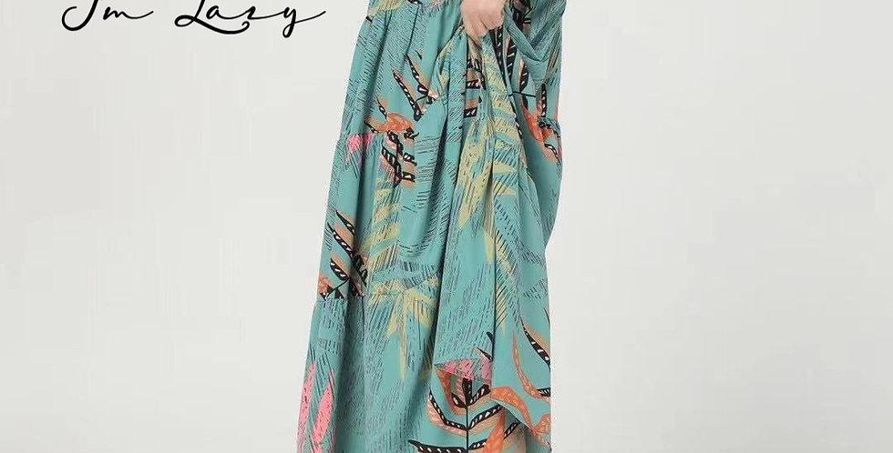 韓裝 🇰🇷 叢林 連身裙