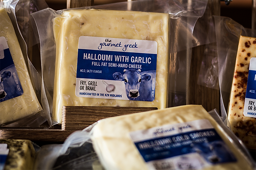 Halloumi with Garlic