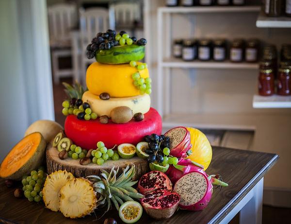 Gouremt Greek Tropical Treat Cheese Cake.jpg