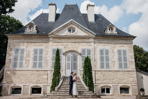 Les mariés au Domaine de Pont de Pany