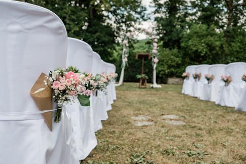 Uné cérémonie au Domaine de Pont de Pany