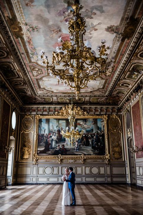 Les mariés Salle des Etats du Palais des ducs de Bourgogne