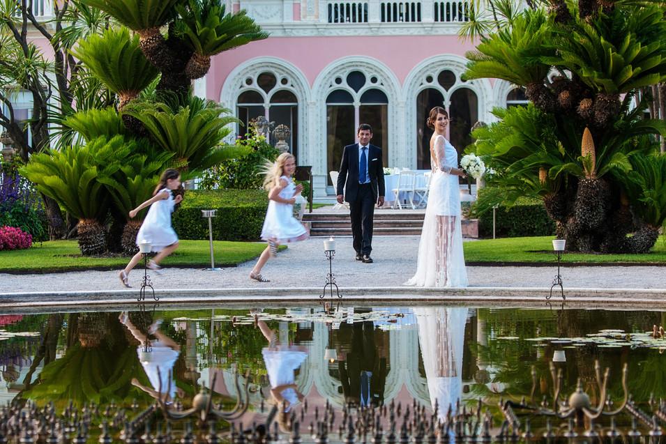Wedding villa ephrussi de Rothschild by David Brenot