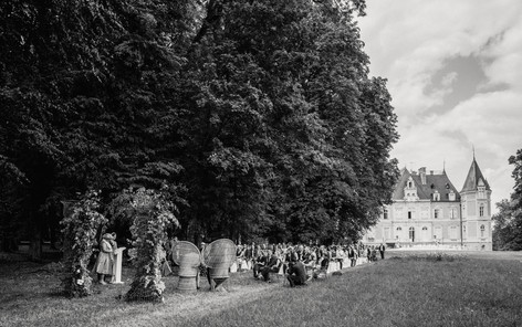 Wedding ceremony Chateau d'Azy - David Brenot photographer