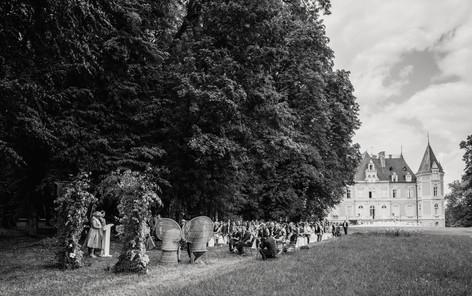 Wedding ceremony Chateau d'Azy - David Brenot photographer