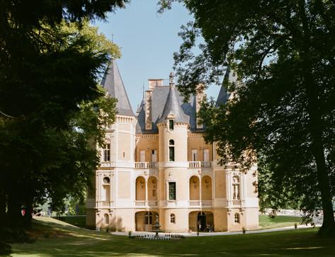 Analog photographer David Brenot - Chateau d'Azy France