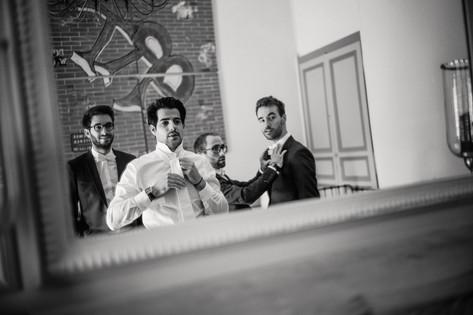 Les photos des préparatifs de mariage à Dijon