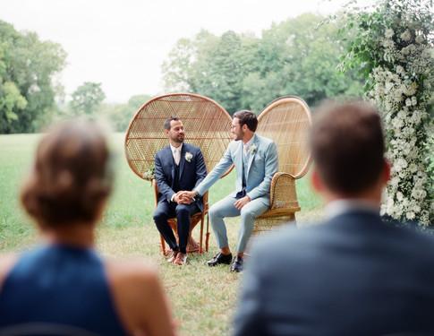 Wedding ceremony Groom and Groom  - L'empreinte Photography agency