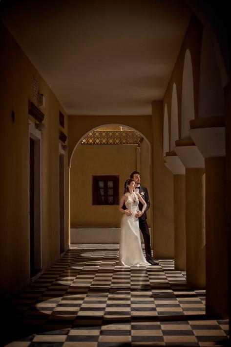 David Brenot Wedding photographer in Santorini
