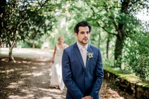 la rencontre des mariés en Bourgogne