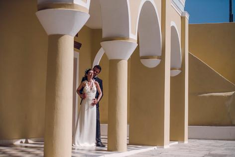 Wedding and prewedding in Santorini - David Brenot French photographer