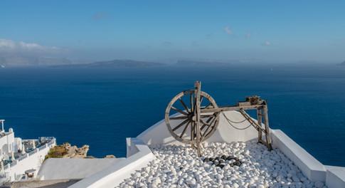 Photographie prise par David Brenot Mariage Santorin Grèce