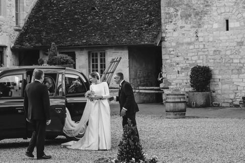 Mariage en Bourgogne Château du Clos de Vougeot