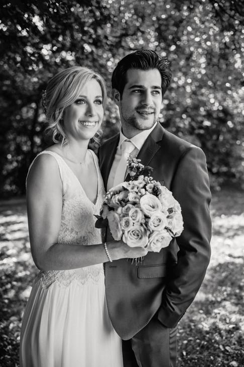 Le portrait des mariés
