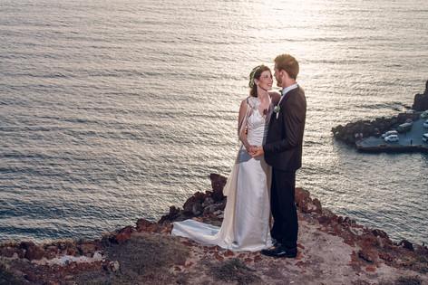 Prewedding and wedding photo session Santorini - David Brenot