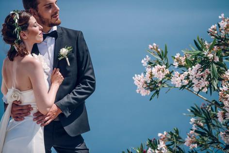 Photographe de mariage David Brenot Santorin Grèce