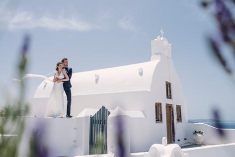 David Brenot - french wedding photographer in Santorini