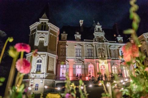Chateau d'Azy by night - l'empreinte
